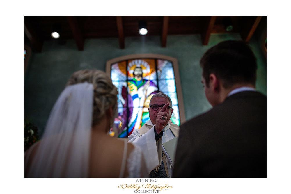 Father Sam wedding ceremony