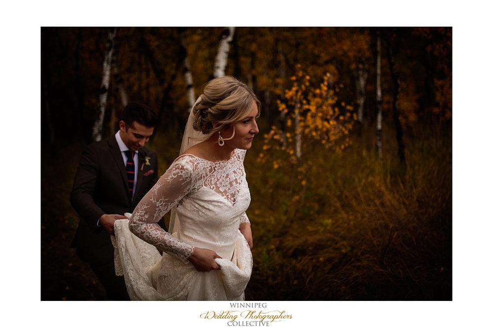 Fall weddings in Winnipeg