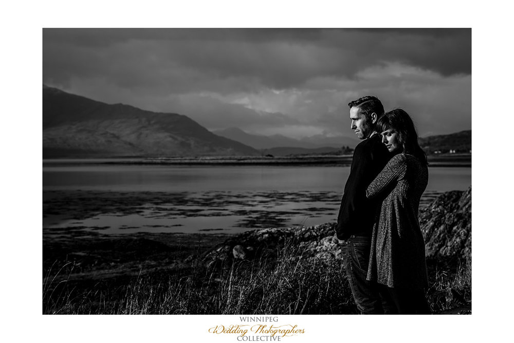 008_Angie Jeff Scotland Engagement Shoot Engaged Photos Isle of Skye Eilean Donan Castle.jpg