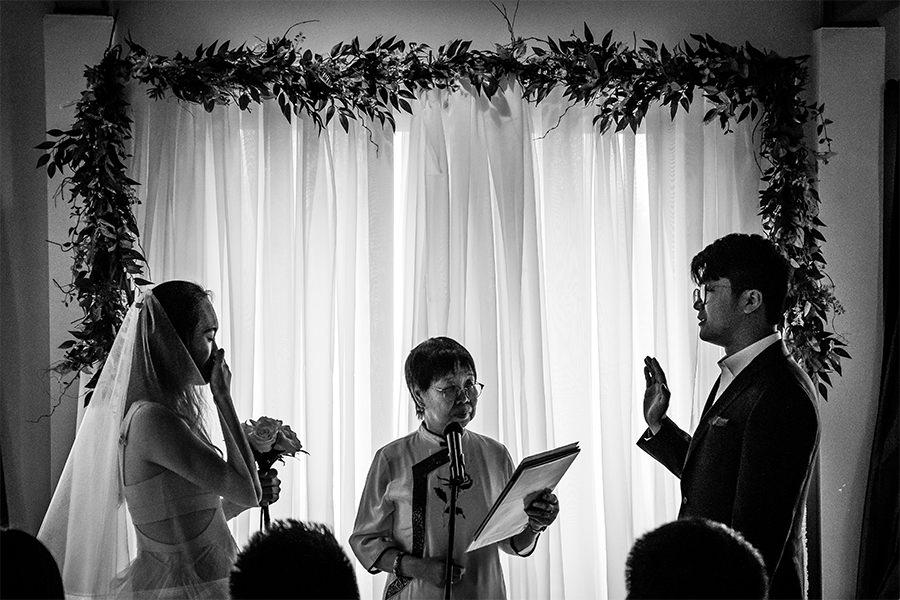 Winnipeg Chinese wedding ceremony