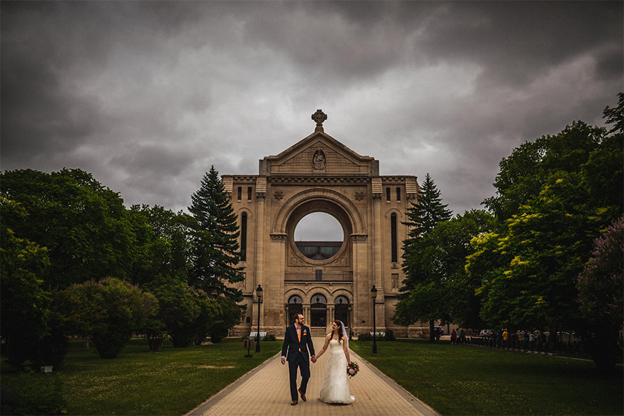Winnipeg summer wedding photography