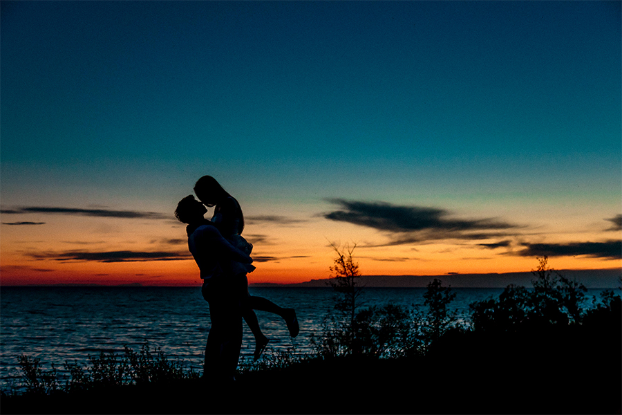 Grand Beach Manitoba Engagement Photography