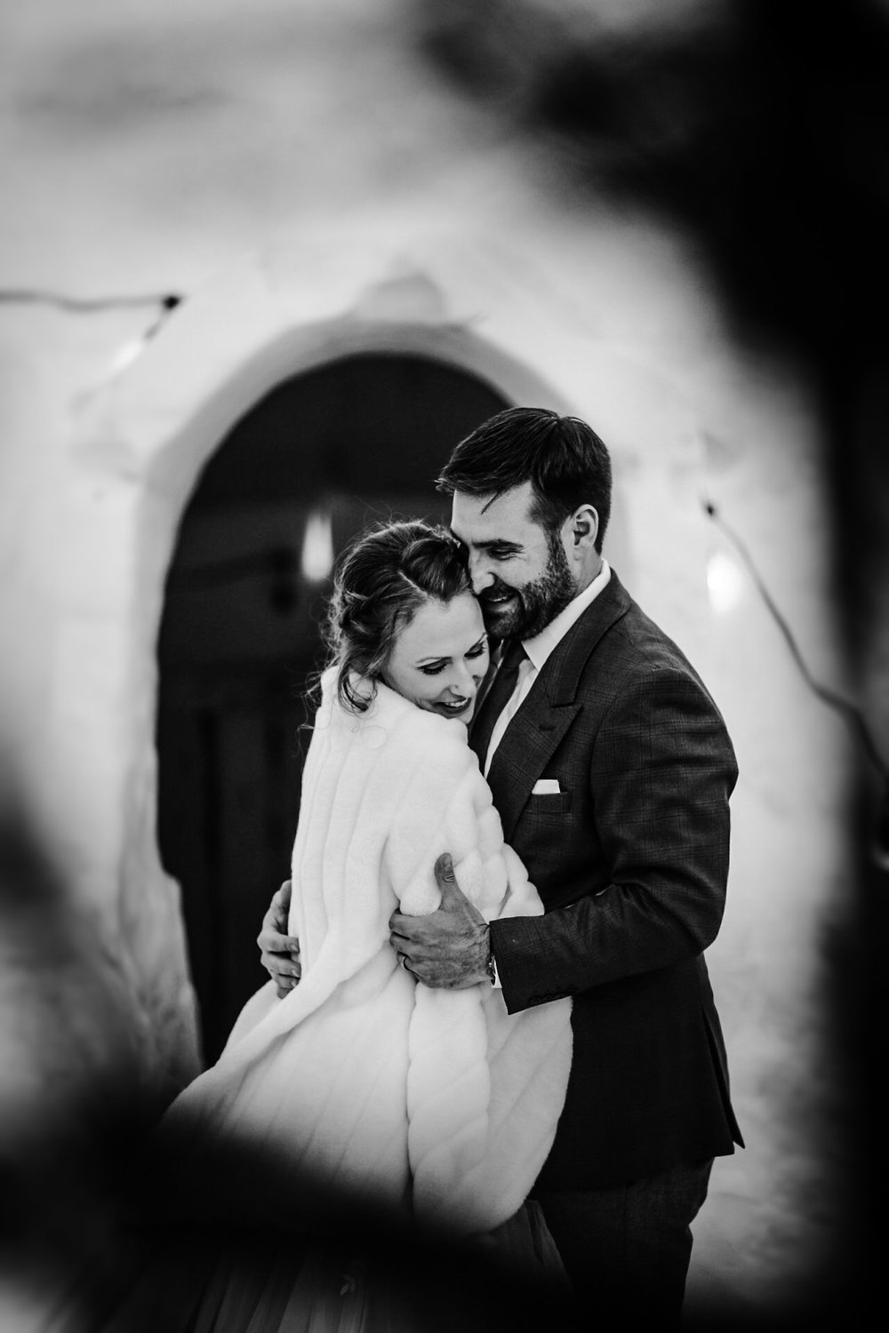 Falcon Trails Winter Wedding Photographer