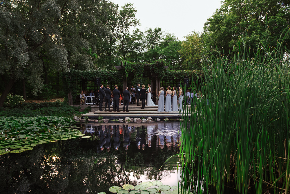 Leo Mol Sculpture Garden Wedding