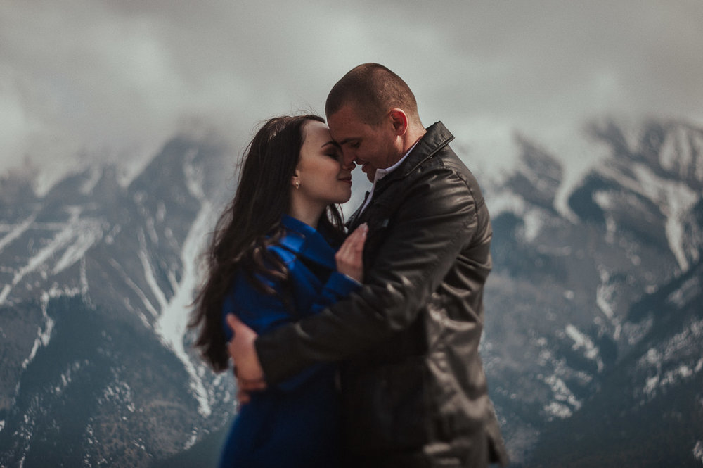 Banff Engagement Photo Session National Park