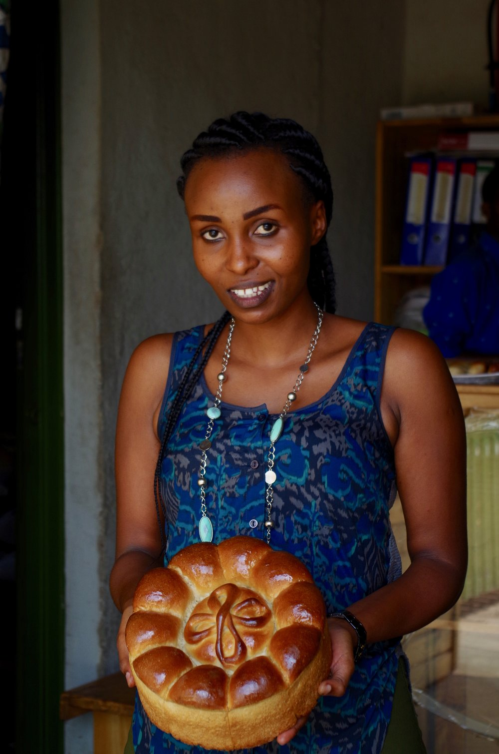 - Yvonne hired in February to lead bakery operations in Remera.