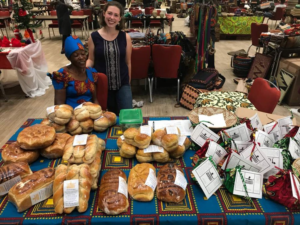 June 2017 - Our bakers promote products at local Made in Rwanda fair. Thereafter, TWB becomes a regular features at local fairs and farmer's markets, increasing exposure in Kigali.