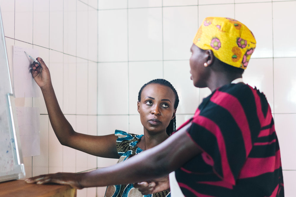 June 2018 - Kigali women get their fourth salary raise in two years, now earning up to five times their pre-TWB incomes.