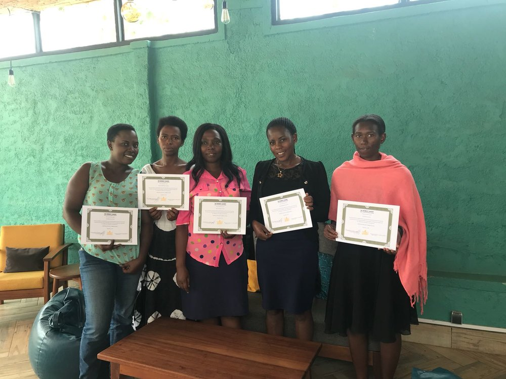august 2018 - Certificates are power. Our training program was accredited by the Workforce Development Authority in Rwanda in 2018.We can't wait to see what our Bakery Operations Manager graduates do next!