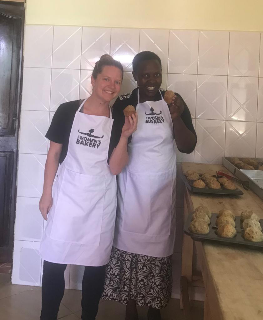- Hilary and Sylvia were an important part of making the training and launch possible. Together, they refined and established important bakery systems.
