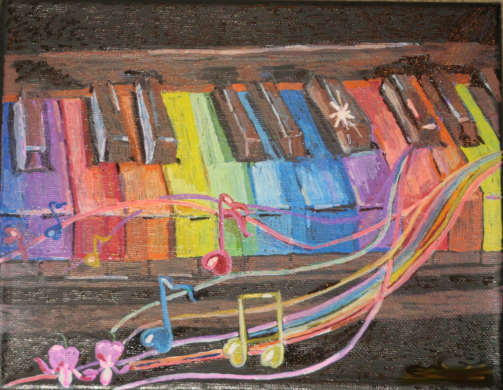 Carole Weis - Rainbow Piano
