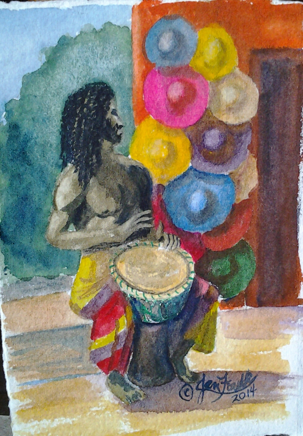 Bongo Beat, Jan Foulk