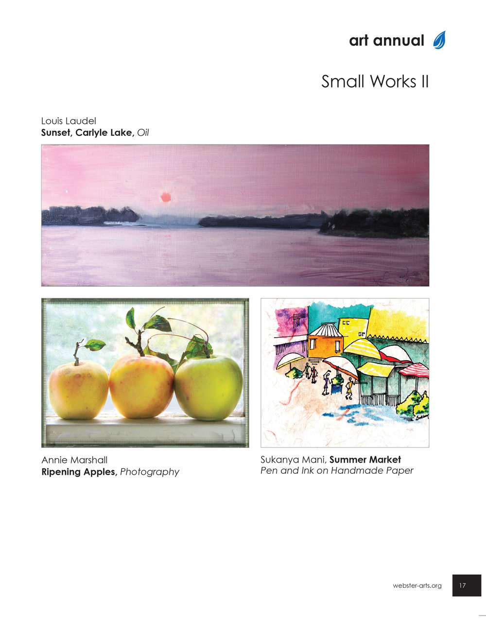 Art Annual, Small Works