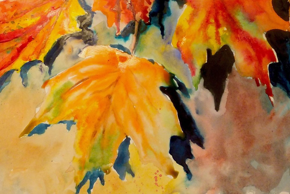 marilynne bradley, autumn leaves