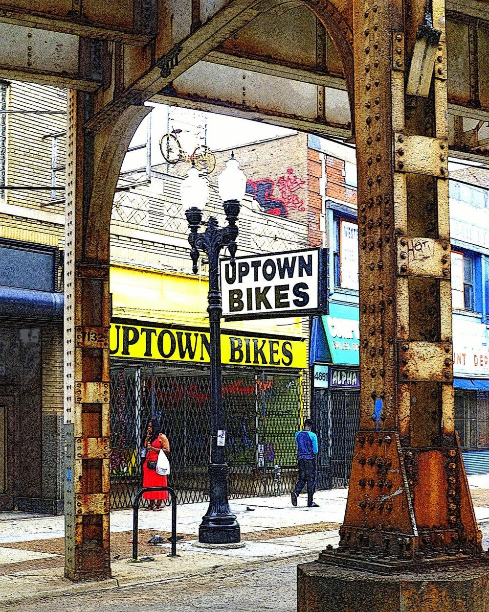 SaraDrower, Uptown Bikes