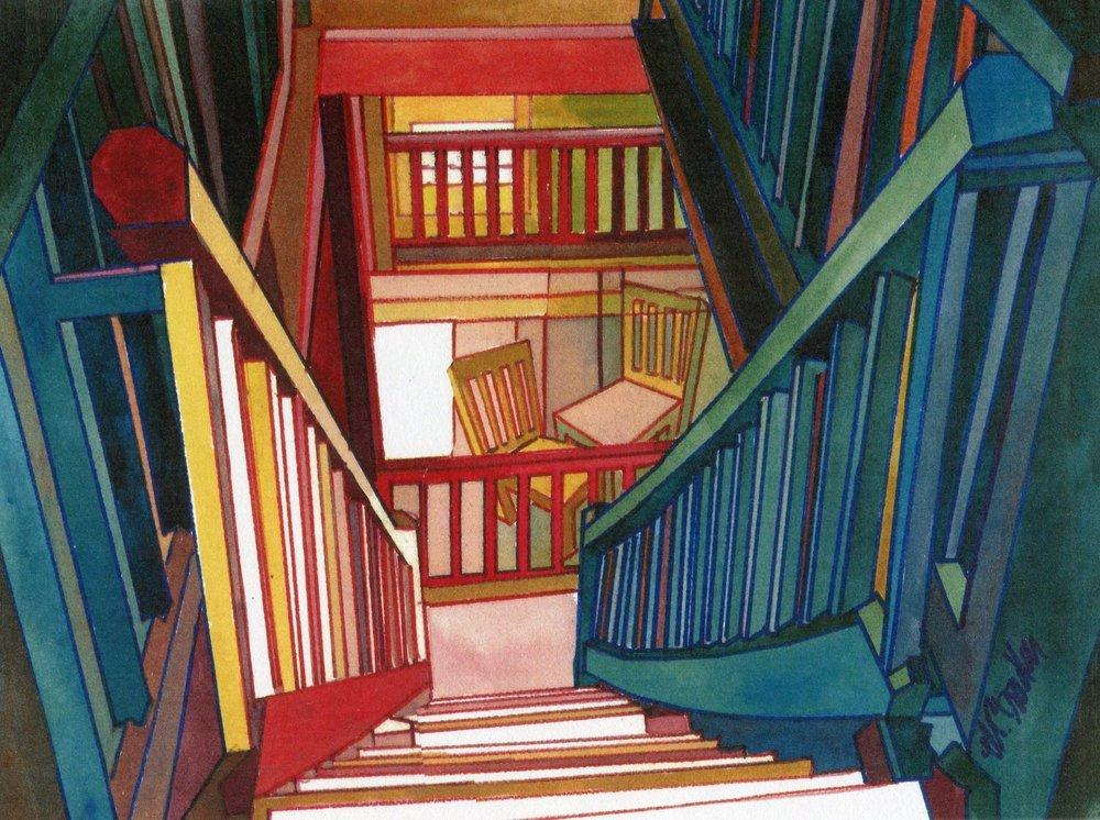 Marilynne Bradley, Homage to Escher