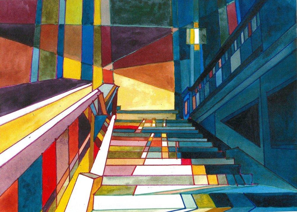 Marilynne Bradley, Stairs 4
