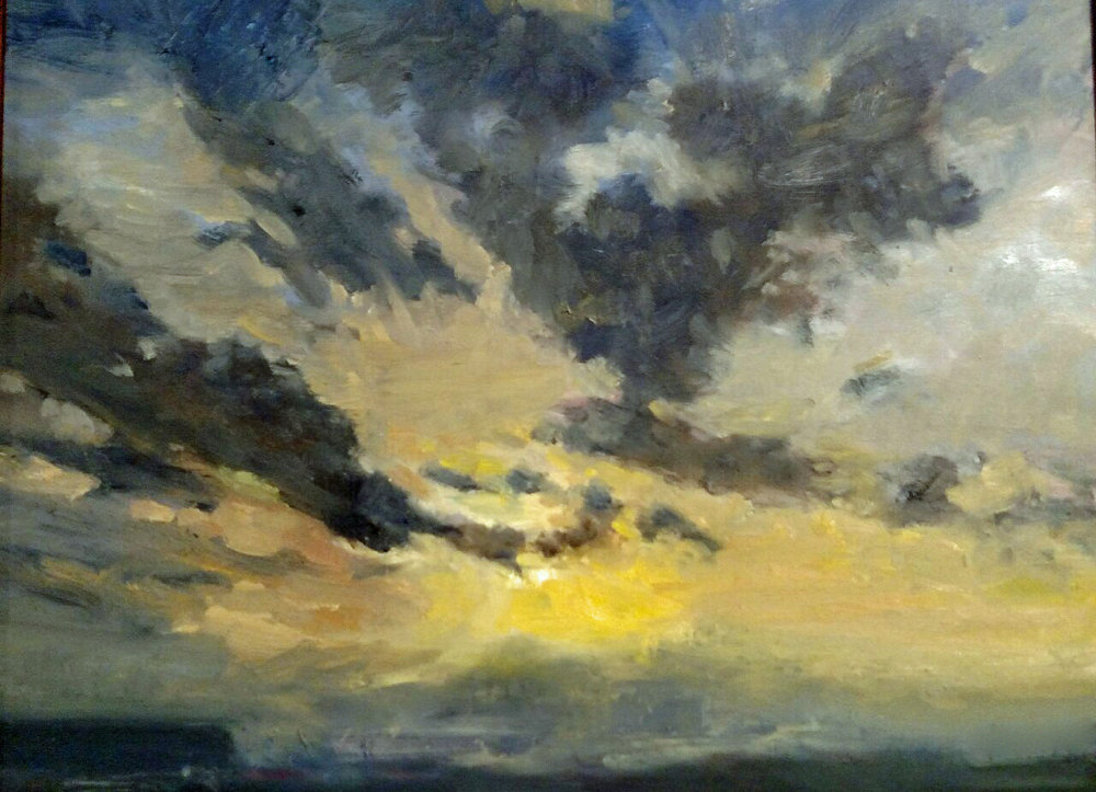 Susan Rogers, Cloud Shapes & Sunset