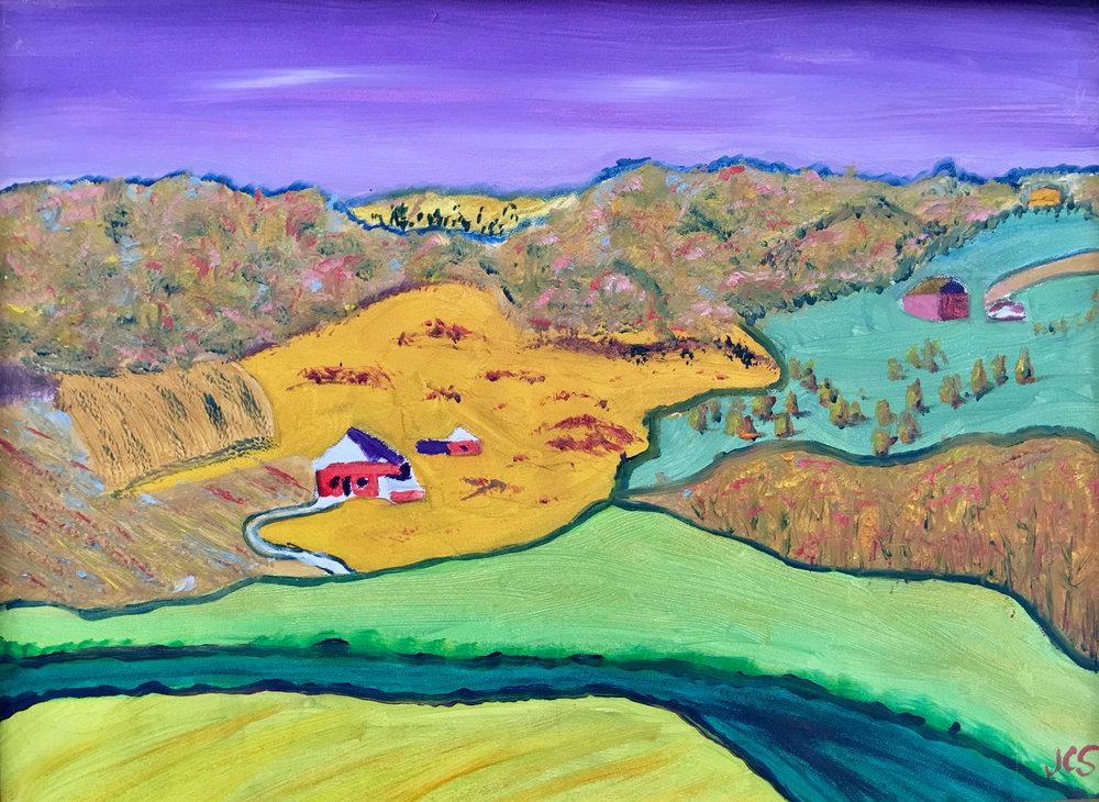 John Schnellmann, Purple Sky
