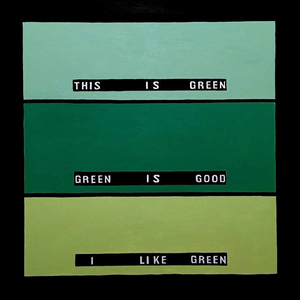 Amy Vidra, This is Green