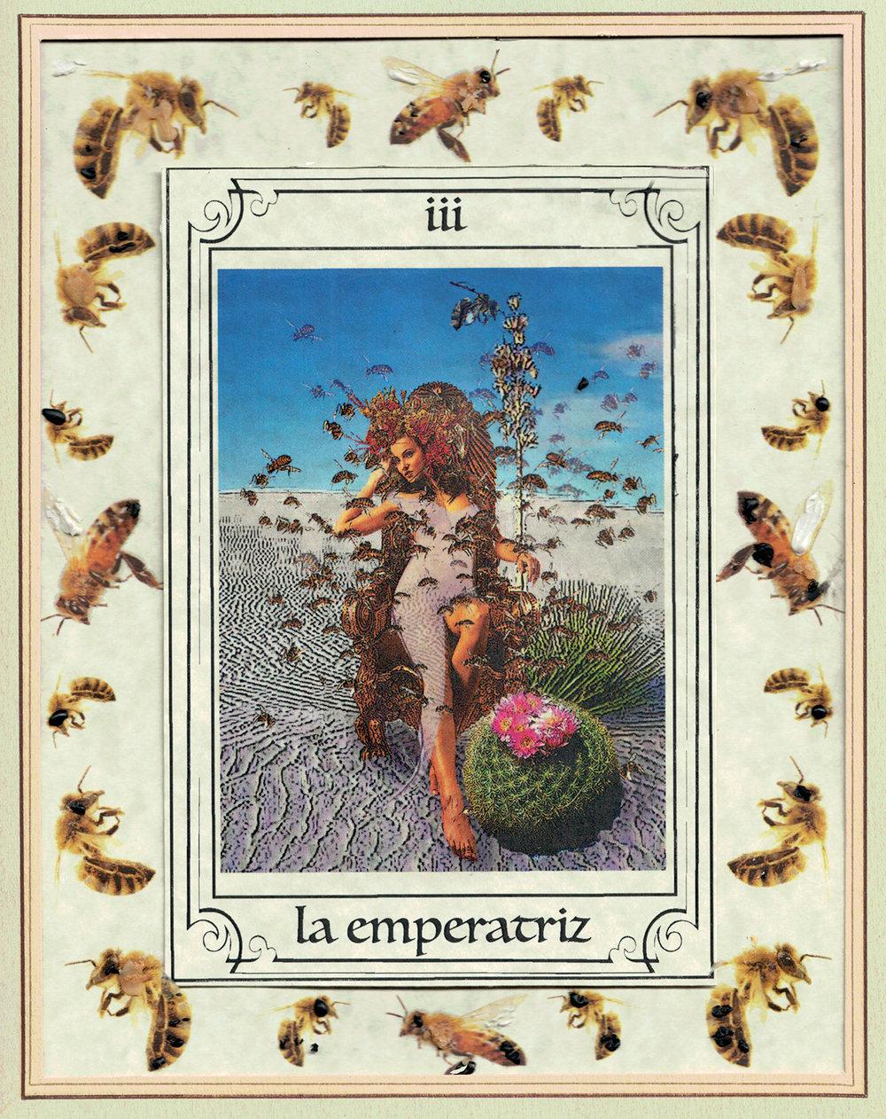 """""""Empress"""" from Tarot del Rio de las Animas Peridas, Brandin Barón"""