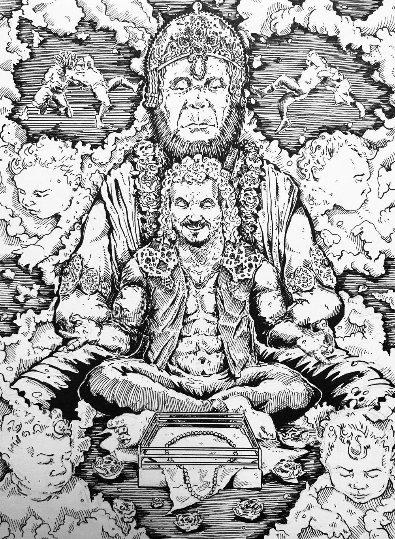 Turnbuckle Profit: Hanuman, Jackson Zorn