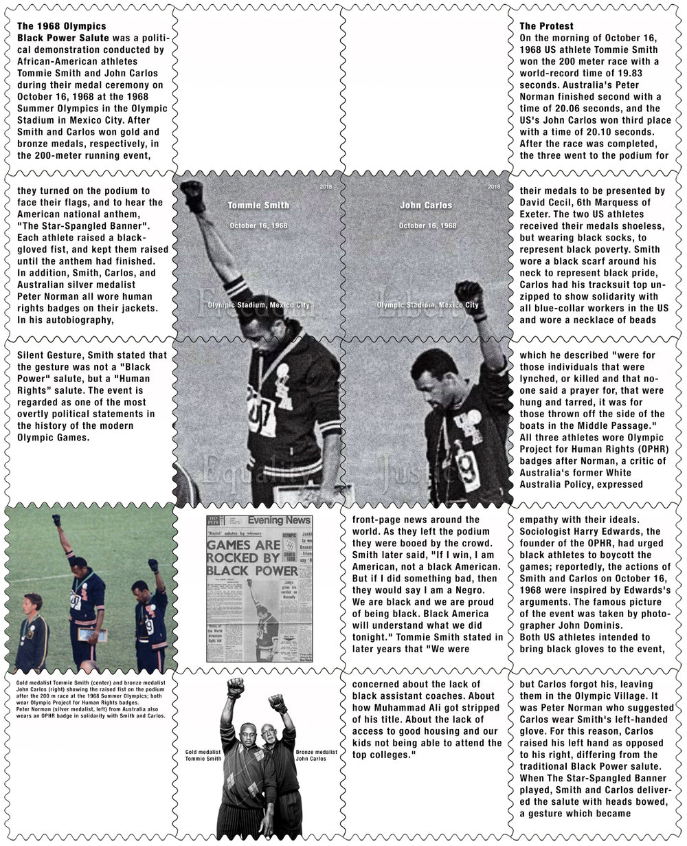 Tommie Smith / John Carlos, James Long