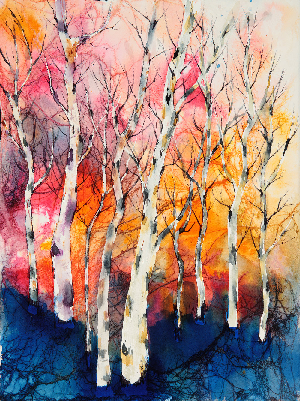 Aspen Forest II, Cookie Ferratier