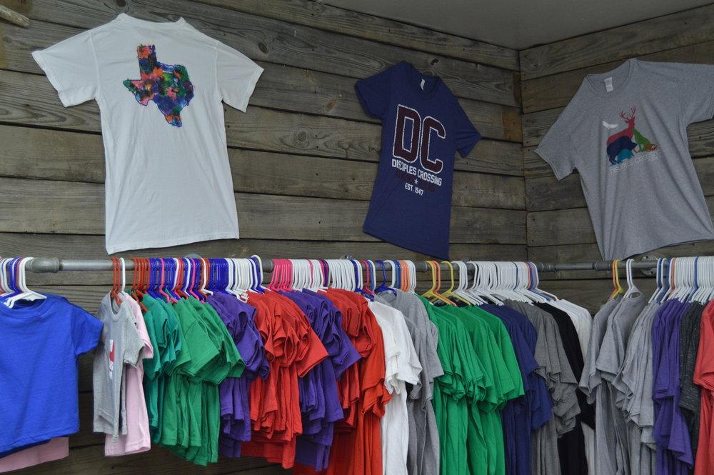 Shirts: $15-$25