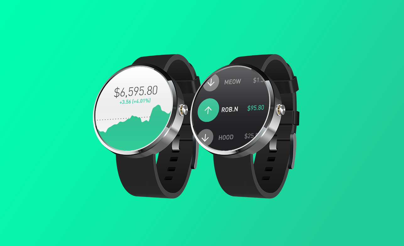 Android Wear introducing robinhood for android wear — under the hood