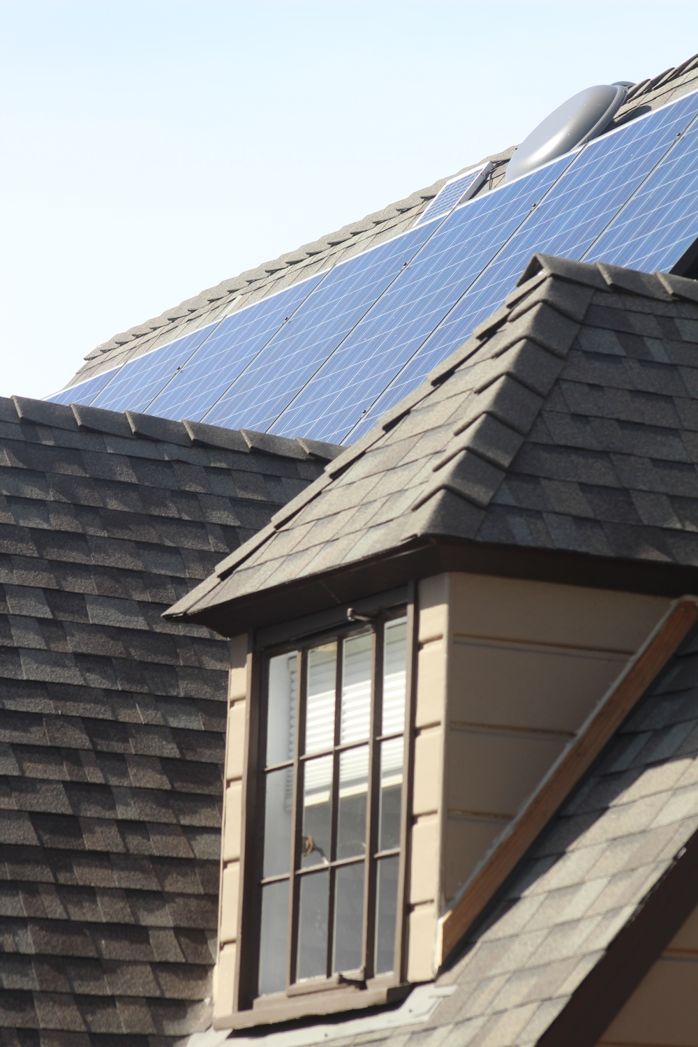 Solar panels have been shown to increase home value in the Bay Area.