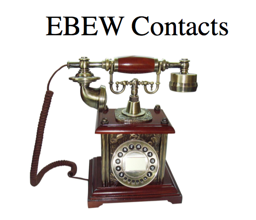 EBEW Contact Sheet  (Call Implementers & Project Managers Directly)