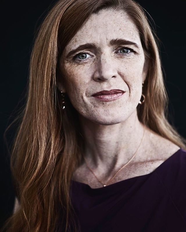We are excited to see you tomorrow at Hodson! Former UN Ambassador Samantha Power has played a key role in shaping international intervention, foreign policy, humanitarian response, and national security. Read the following article from The Harvard Gazette to learn more about Power's experience at the White House, her reflection on the Trump era, and nuanced views on relevant international issues. Also remember to arrive at Hodson Hall at 7:30 pm tomorrow if you did not reserve a ticket in advance as we will be providing limited open seating on a first come, first served basis.  Article:  http://bit.ly/2nmSfG1  Image: The New Yorker #RavelUnravel #JHUFAS