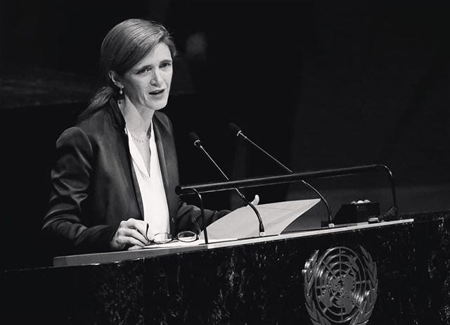 Only a couple hours until our event! Come to Hodson Hall at 7:30 PM tonight to hear from former UN Ambassador Samantha Power. We will be providing limited open seating on a first come, first served basis for those who did not reserve a ticket. The event will also include a catered reception. See you tonight! #RavelUnravel #JHUFAS