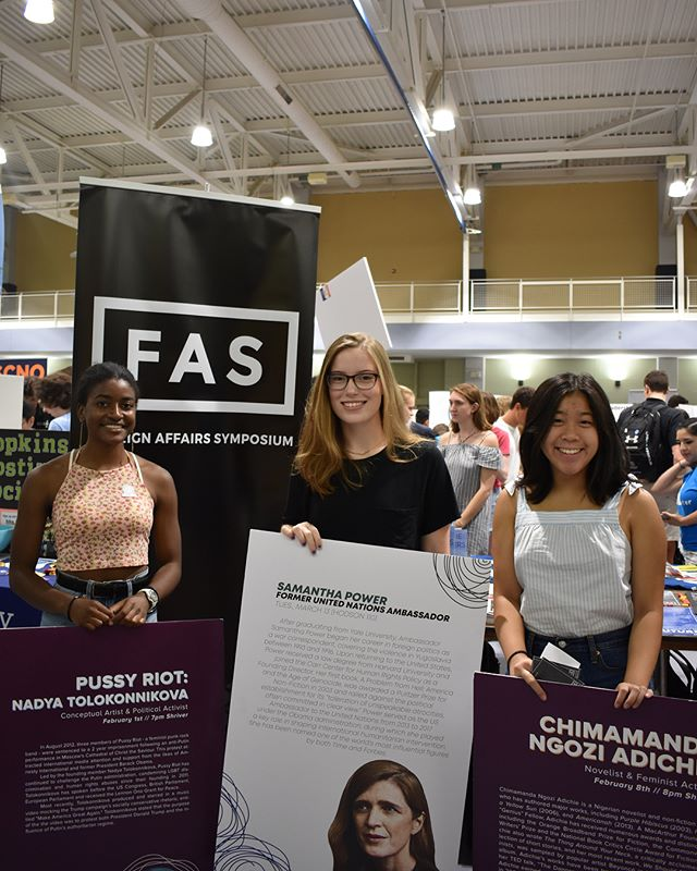 Thank you to everyone who came out and spoke to our staff members at the student involvement fair! Don't forget - applications are due September 14th! (Link in bio) #jhufas