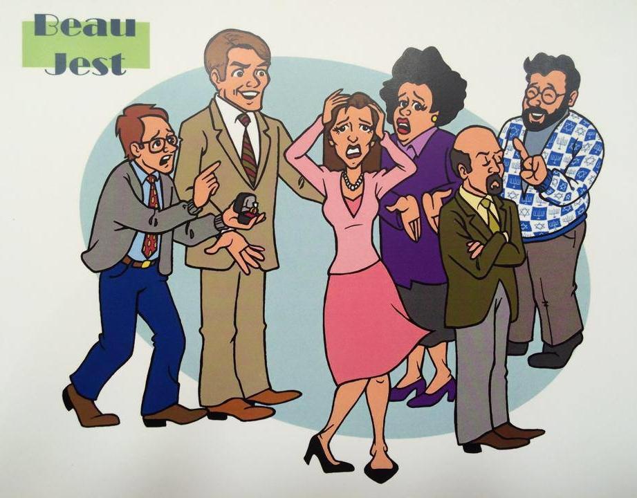 Beau Jest Show Caricature