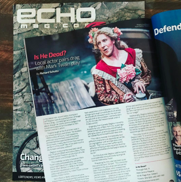 Feature in ECHO Magazine (February 2017)