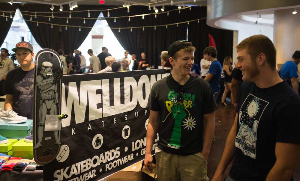 Big up to Welldone Skate Supply for sponsoring the Graff battle!
