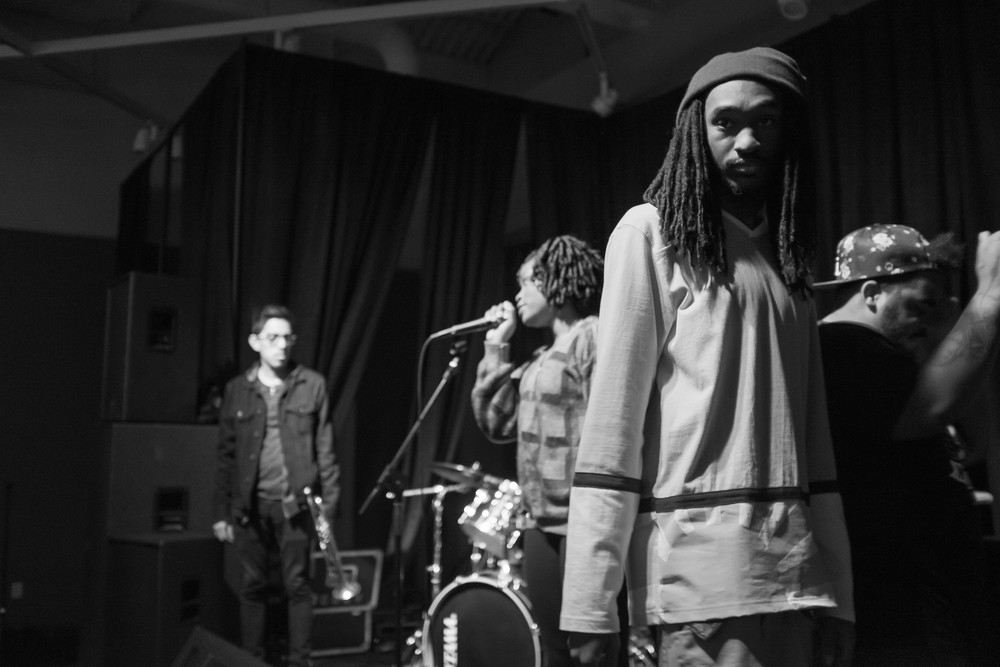 Big up to the Levvelheads. I was very impressed with them! It was great to see what the next generation of hip-hop music in this city has to offer.