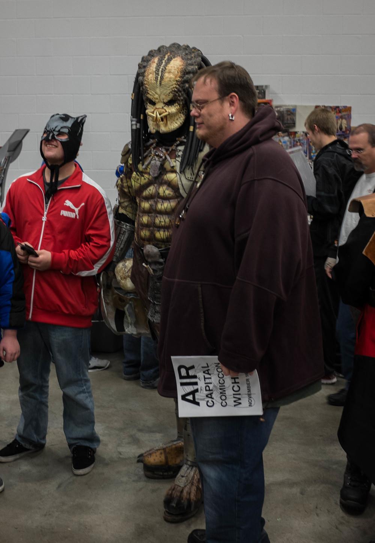 Pretty cool Predator costume!