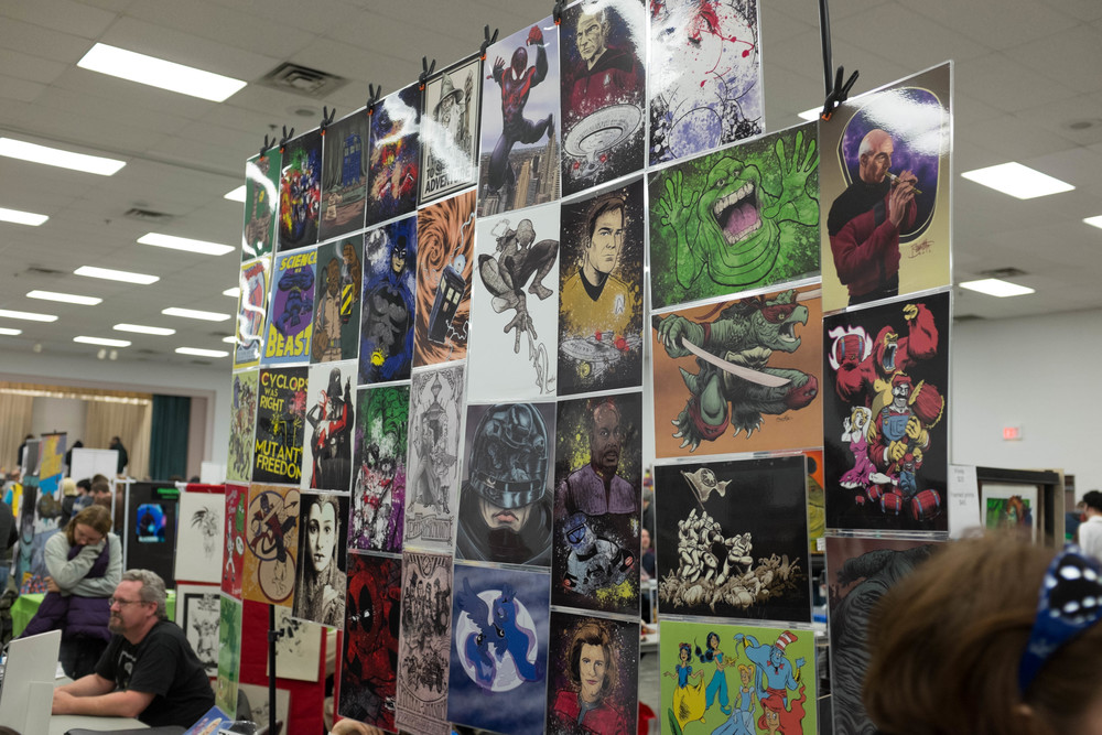 Some of the great artwork on display