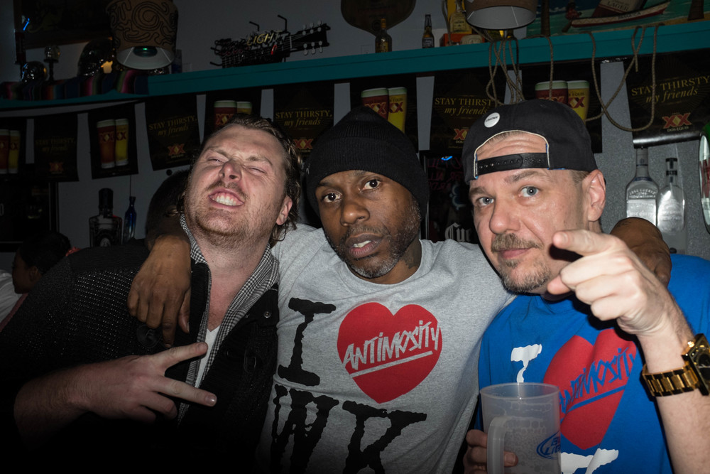 True hip-hop all day. Antimosity and Mix-a-myte