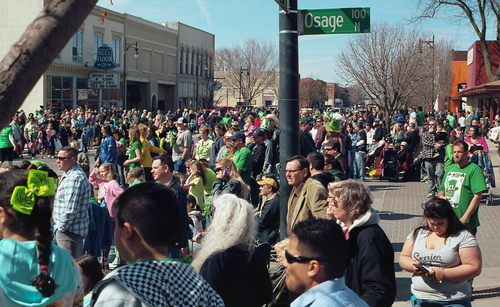 Thousands of people should up for the parade in Delano.