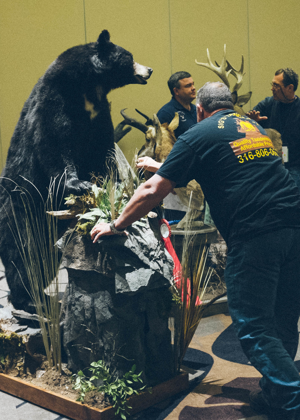 When I saw that the annual Wichita Taxidermy show was downtown I could not resist going.