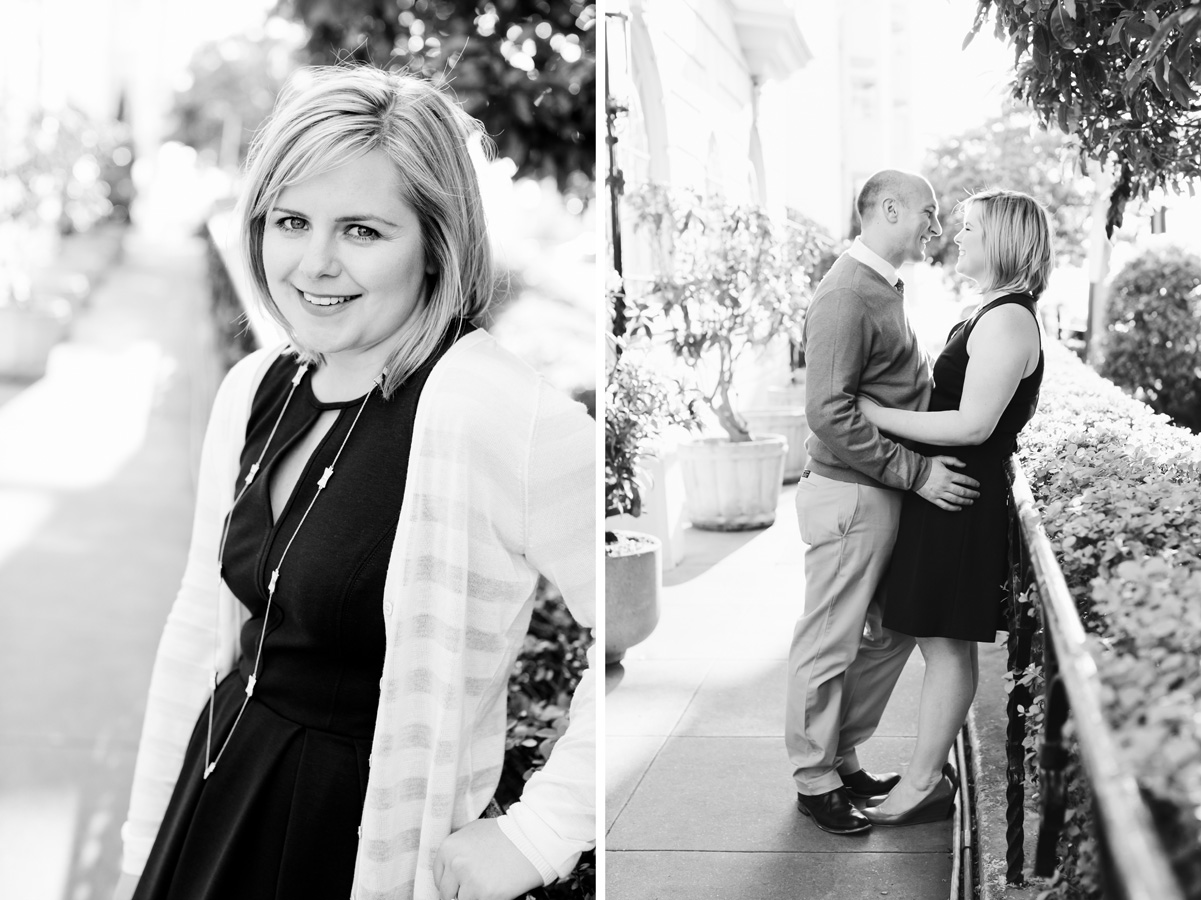 San Francisco Russian Hill Engagement - Courtney Aaron24