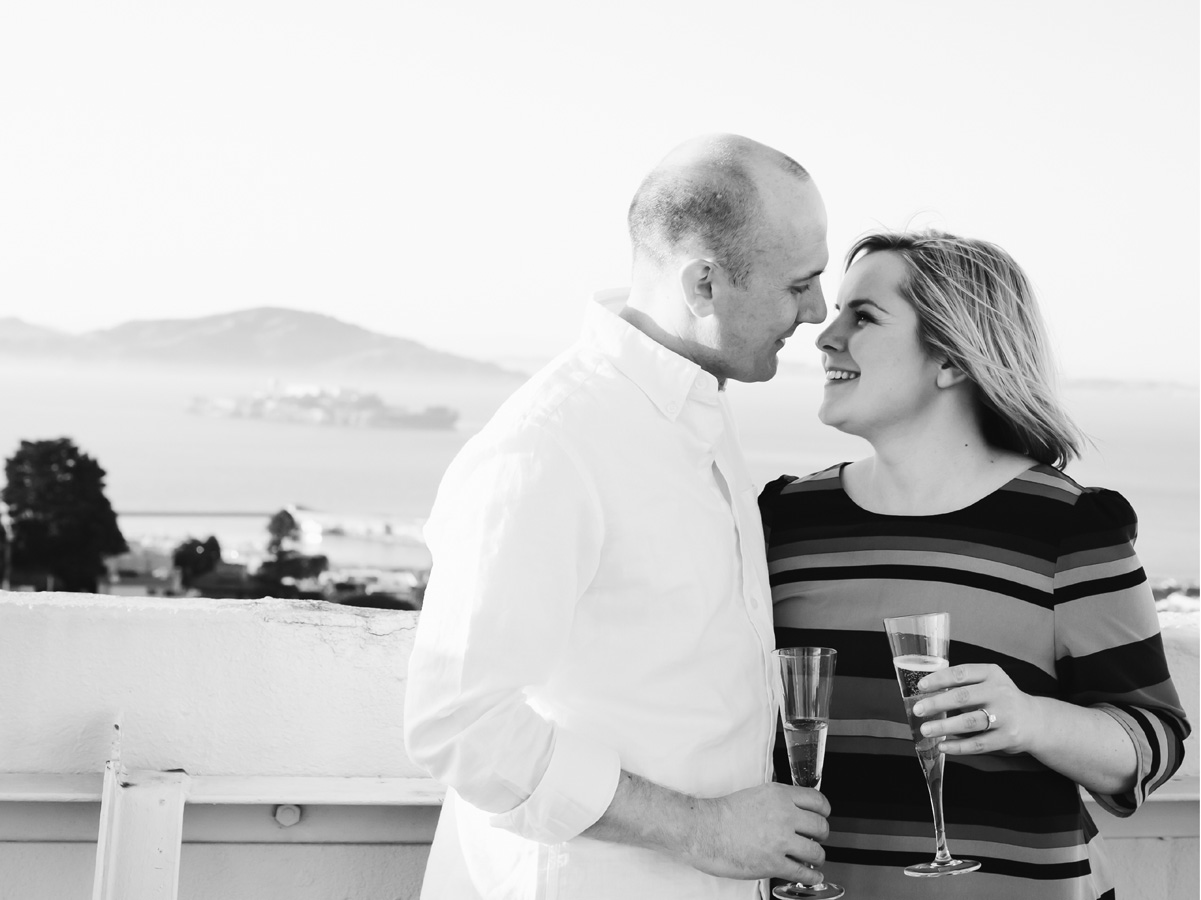 San Francisco Russian Hill Engagement - Courtney Aaron40