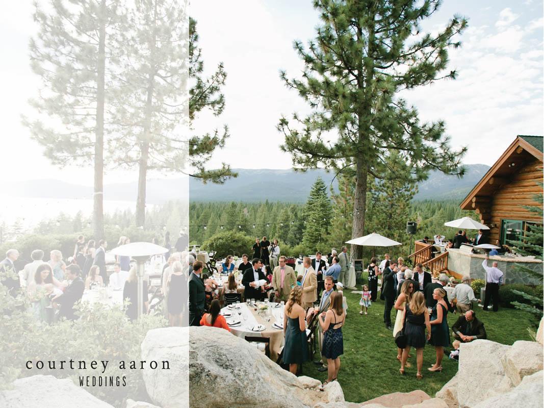 Tunnel Creek Lodge Wedding Lake Tahoe Private residence001