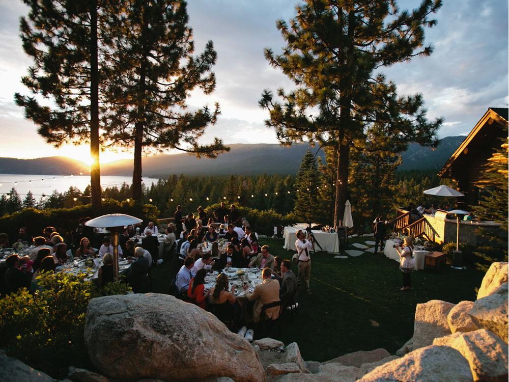 Tunnel Creek Lodge Wedding Lake Tahoe Private residence091