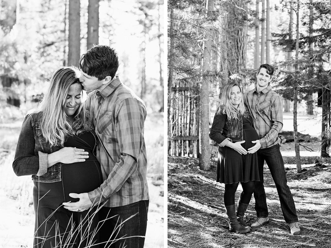 Courtney Aaron lake Tahoe maternity