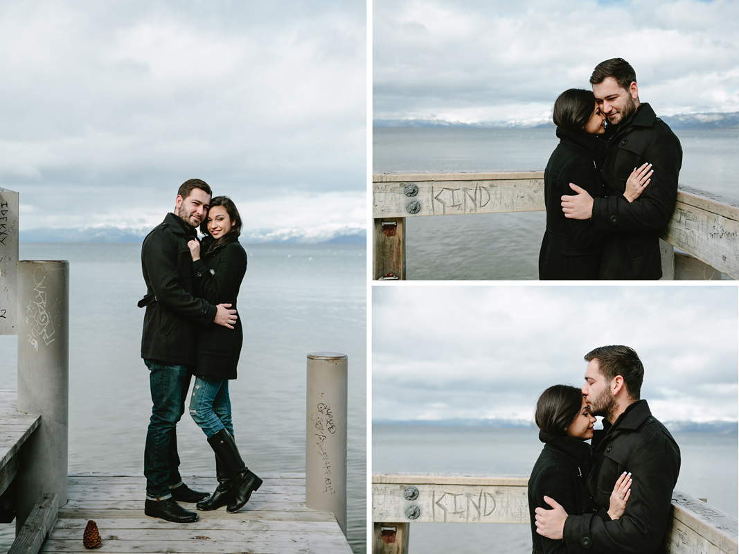Courtney Aaron south lake Tahoe engagement 7